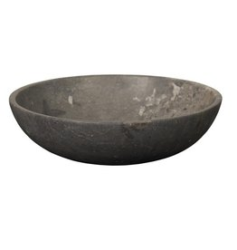 Noir Black Marble Bowl