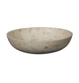 Noir White Marble Bowl