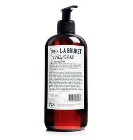 LA Bruket No. 069 Lemongrass Liquid Soap, 450mL