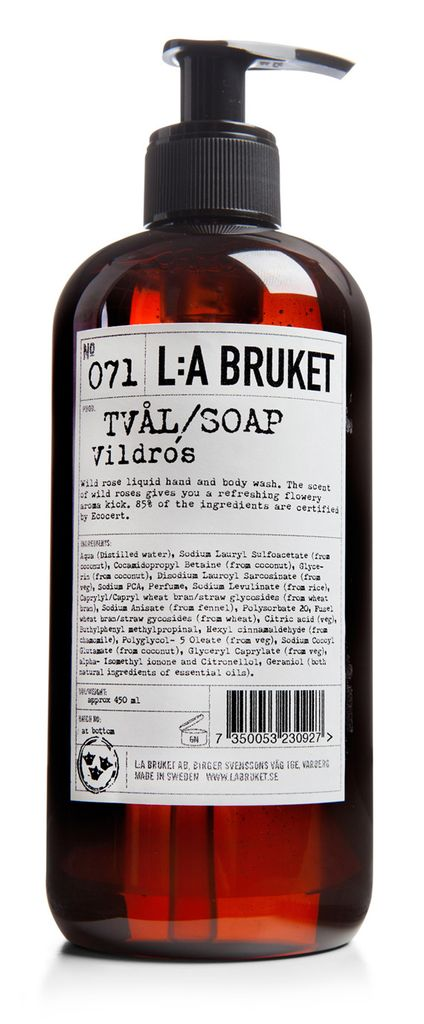 No. 071 Wild Rose Liquid Soap, 450mL