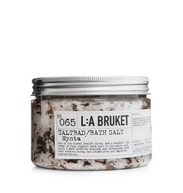 LA Bruket No. 65 Mint Bath Salts, 450g