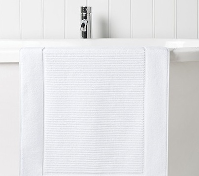 Supreme Hygro Bath Mat WHITE