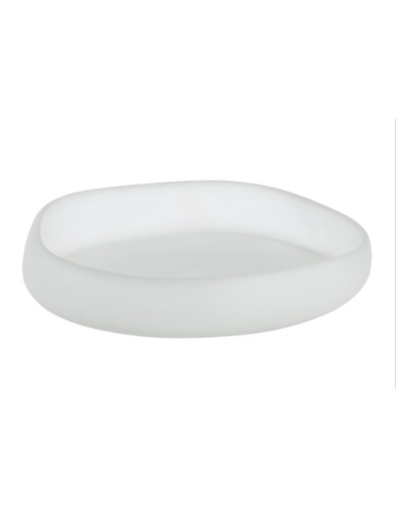 Arteriors Sansa Large Tray<br /> Overall Dimensions: H: 2.5 in W: 0 in D: 0 in Dia: 12.5in