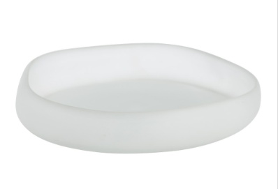 Sansa Large Tray<br /> Overall Dimensions: H: 2.5 in W: 0 in D: 0 in Dia: 12.5in