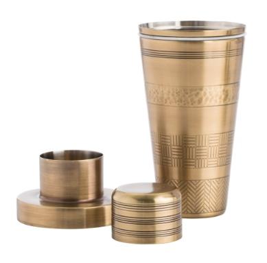 Rickey Cocktail Shaker,H: 9in Dia: 4in