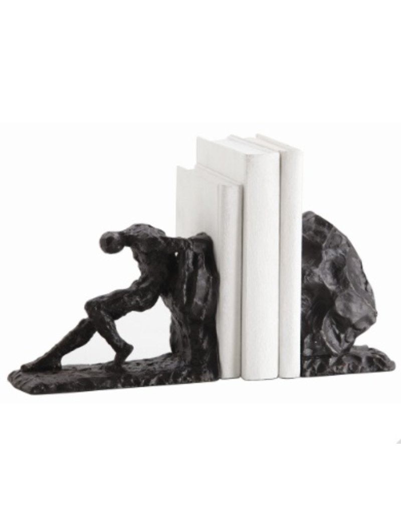 Arteriors Jacque Bookends, Set of 2 Overall Dimensions: H: 6 in W: 11.5 in D: 3.5 in
