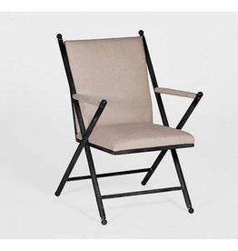 Gabby Martel Chair in Buff Linen