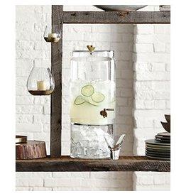 Roost Bergen Glass and Brass Beverage Dispenser