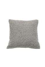 Ann Gish PILLOW BOUCLE IN LIGHT GREY