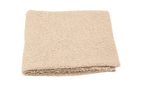 THROW BOUCLE, OYSTER
