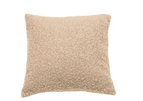 PILLOW BOUCLE IN OYSTER