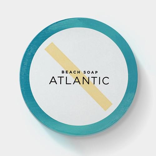 Beach Soap - Atlantic<br />Invigorating Body Wash, 10 oz.<br />Italian Lime