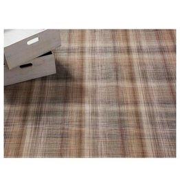 Chilewich LTX Plaid Floormat 23x36 TAN