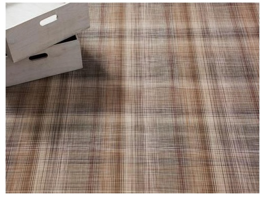Plaid Tan Small (23'' x 36'')