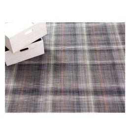 Chilewich LTX Plaid Floormat 23x36 GREY