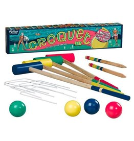 Wild and Wolf Croquet Set