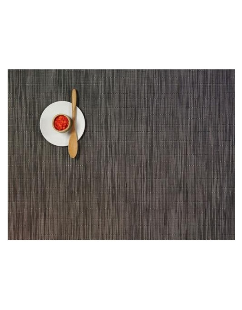 Chilewich Bamboo Grey Flannel Rectangle (14'' x 19'')