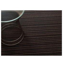 Chilewich Skinny Stripe ShagUtility24x36 MOCHA