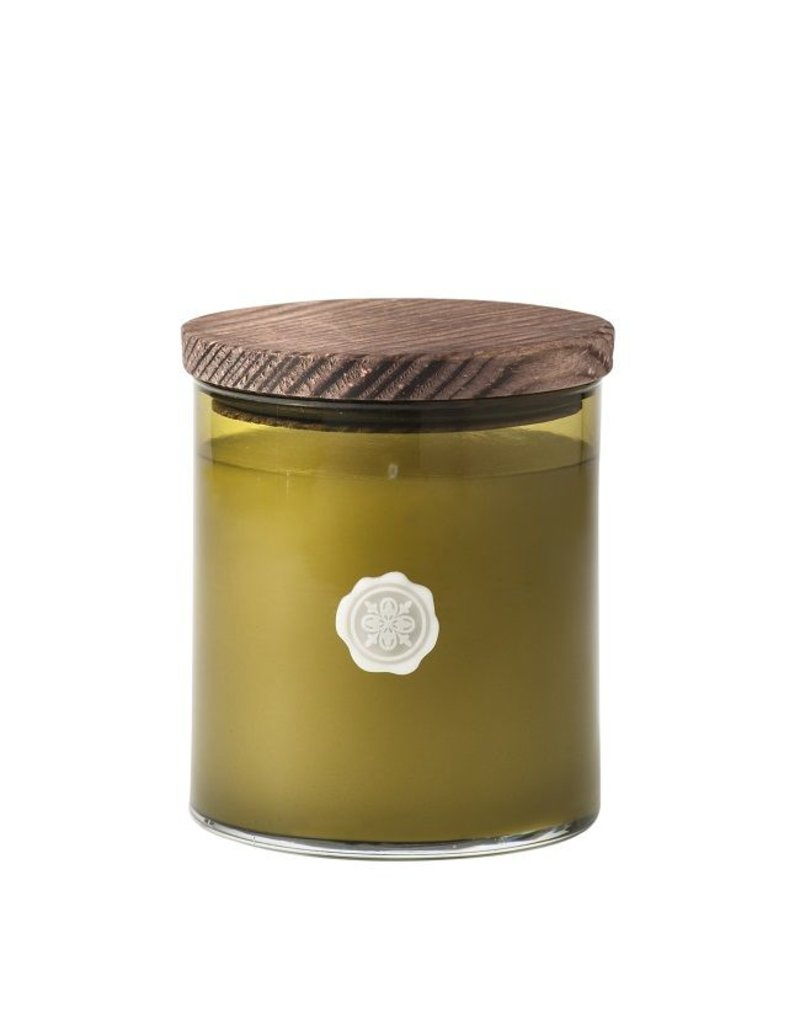 Aromatique 14oz. Candle, White Amaryllis and Rosemary