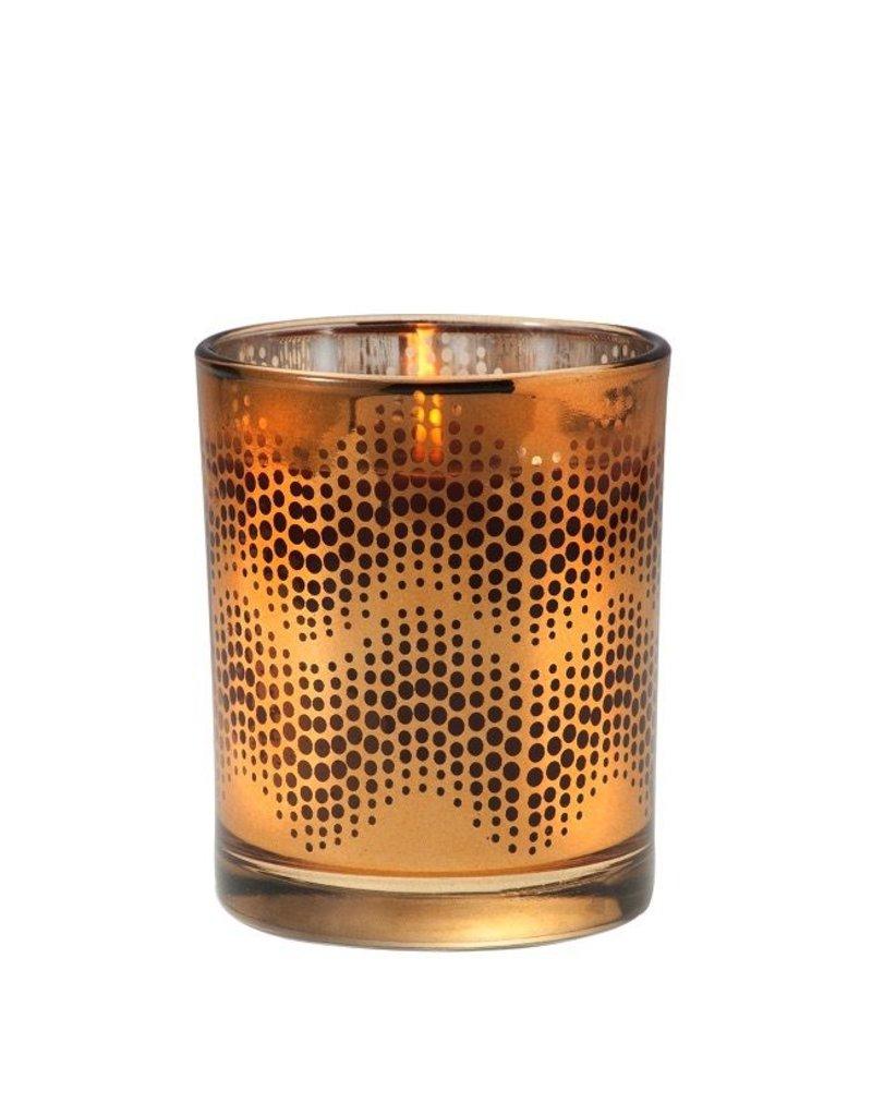 Aromatique Metallic Candle, Pumpkin Spice