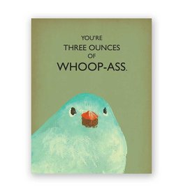 Mincing Mockingbird Three Ounce Card