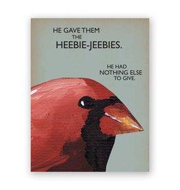 Heebie Jeebies Card