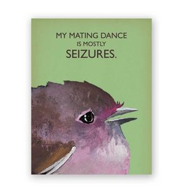 Mincing Mockingbird Mating Dance Card