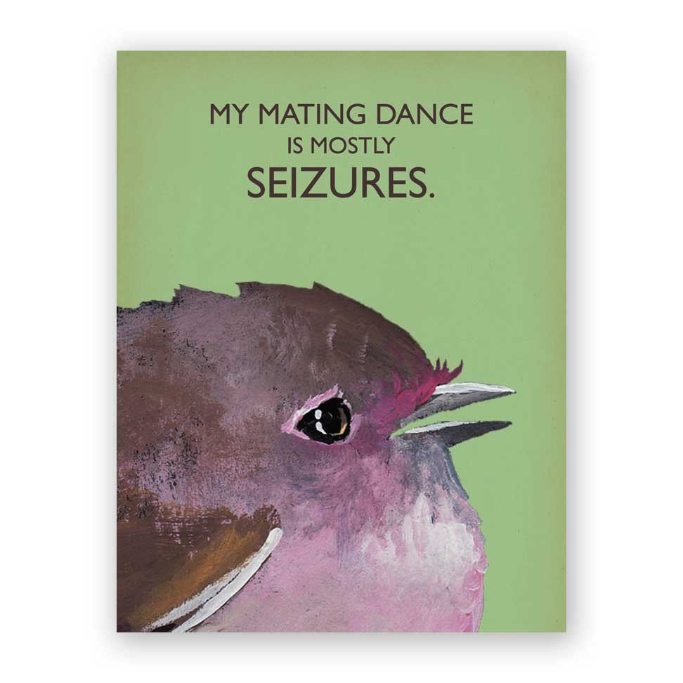 Mating Dance Card