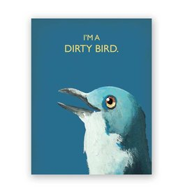 Mincing Mockingbird Dirty Bird Card