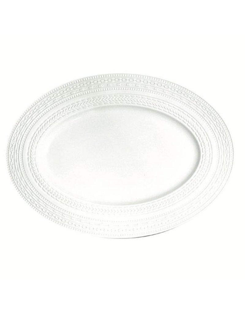 "Fortessa LPB Casale Oval Rim Platter 15.25"" (39cm)"