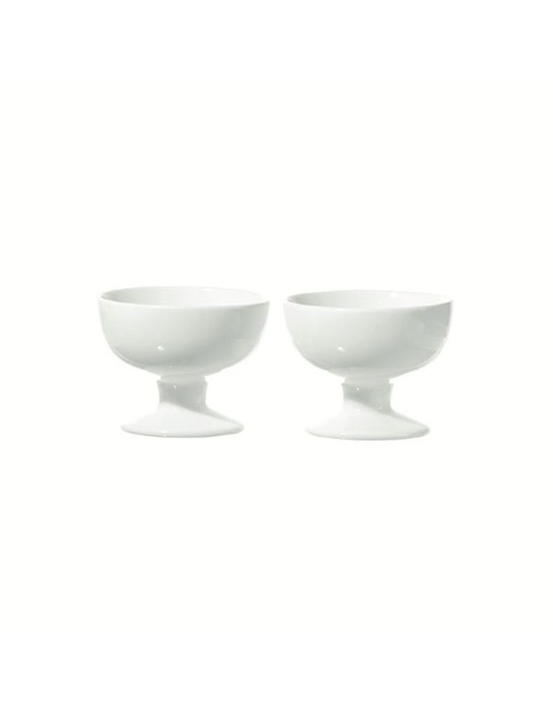 "Fortessa LPB Convivio Set of 2 Footed Bowls 4x2.75"" (9.5x7cm)"