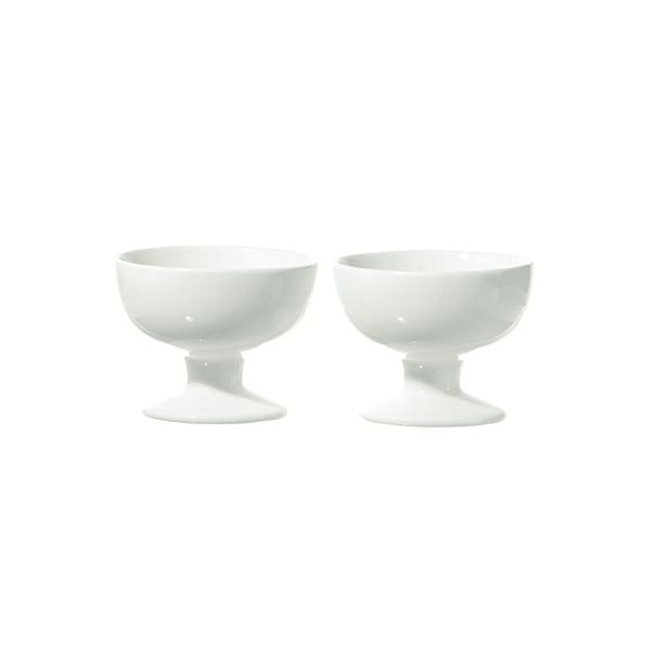 "LPB Convivio Set of 2 Footed Bowls 4x2.75"" (9.5x7cm)"