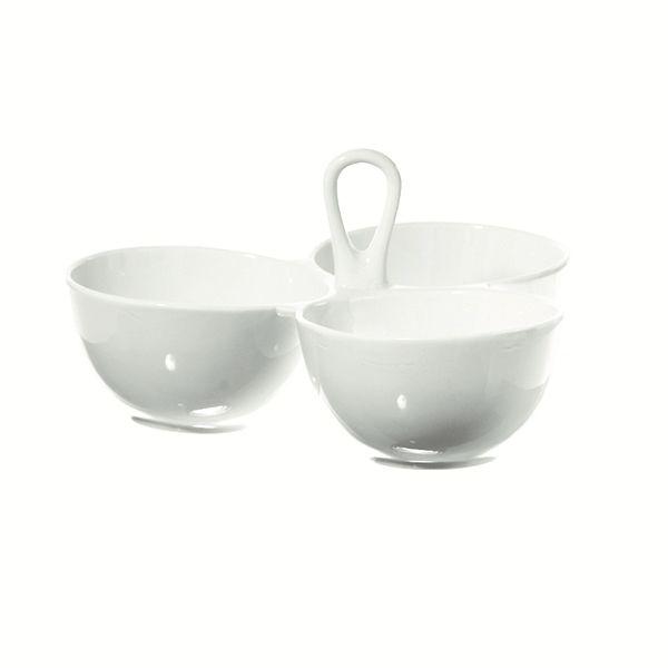"""LPB Convivio 3 Bowls Serving with handle 8x8"""" (20x20cm)"""