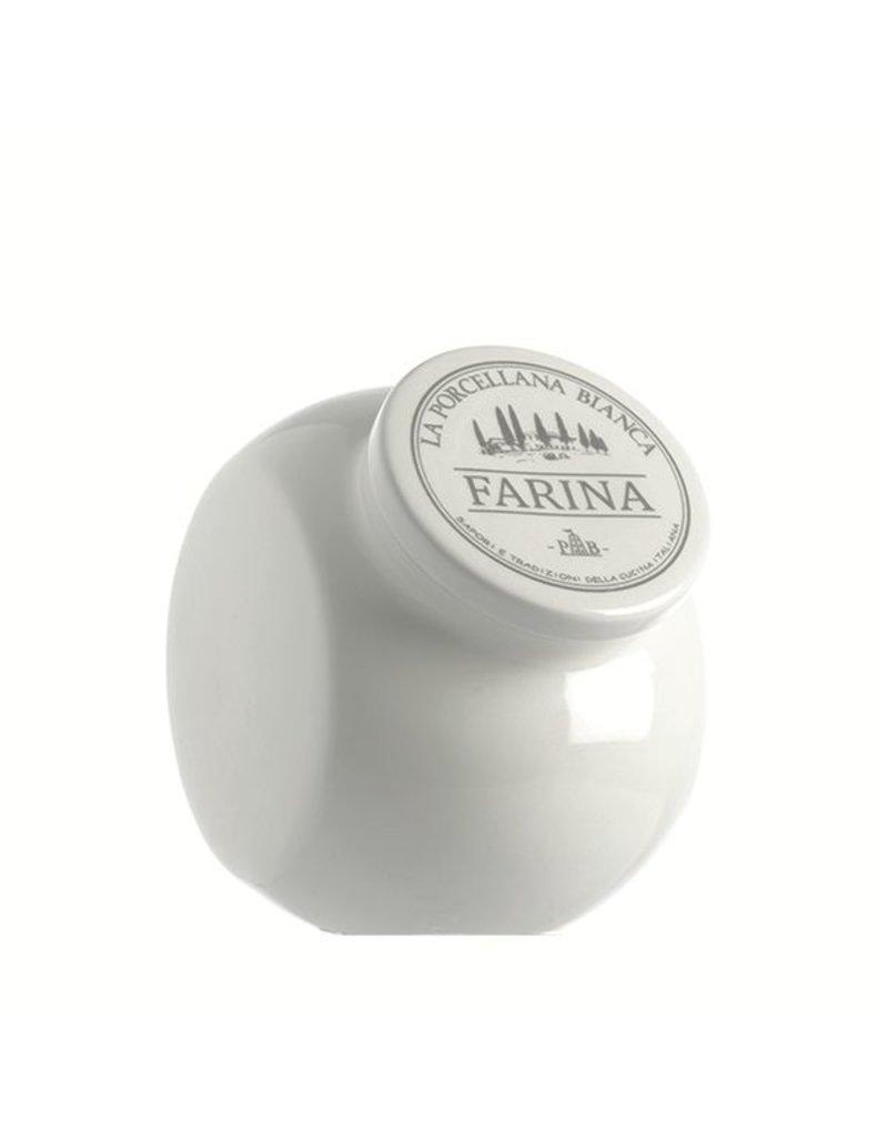 Fortessa LPB Conserva Ceramic Sloping Flour Container 30oz (0.9L)