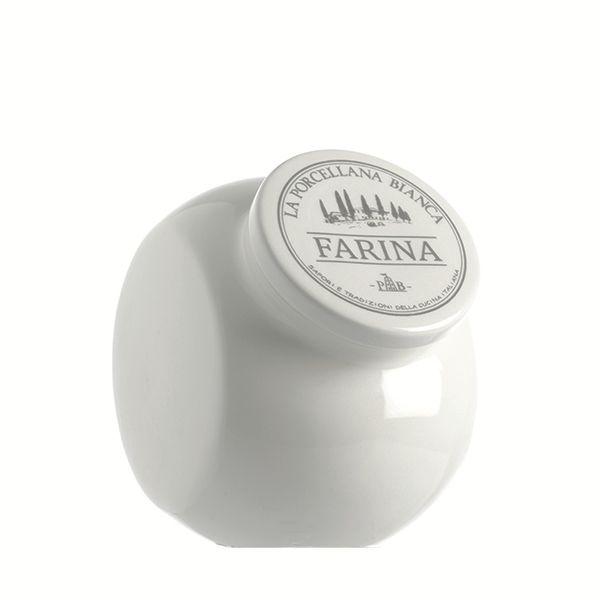 LPB Conserva Ceramic Sloping Flour Container 30oz (0.9L)