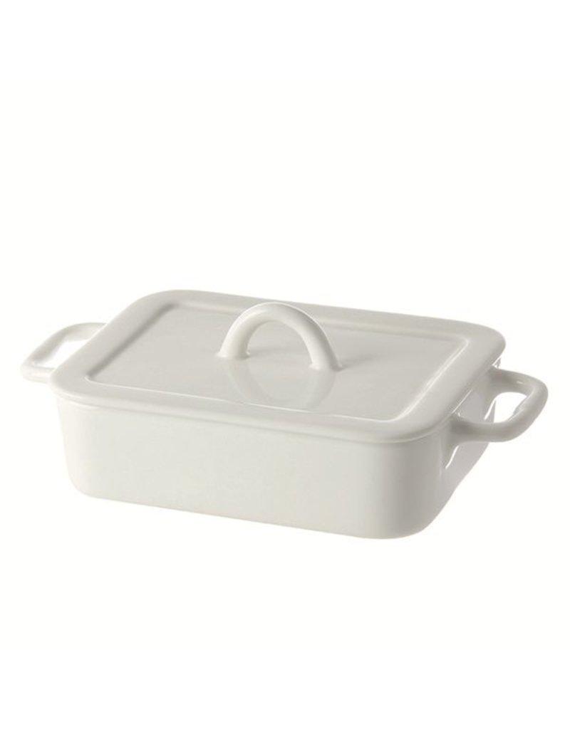 "Fortessa LPB Poppi Rectangular Baking Dish w/h with lid 8.66"" (22cm)"