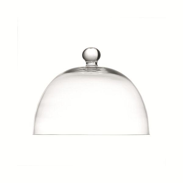 """LPB Arezzo Glass Dome 8.25"""" (21cm)"""