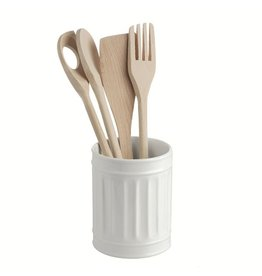 "LPB Preparazione Round Utensils Holder 4.5x5.75"" (11.5x14.5c"