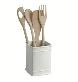 "LPB Preparazione Square Utensils Holder 4x5.75"" (11x14.5cm)"