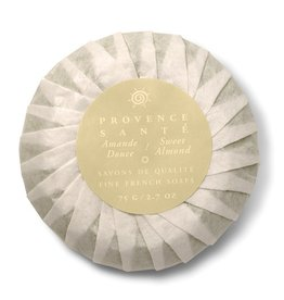 Baudelaire Provence Sante- Gift Soap, Sweet Almond 2.7 oz., 4 bar