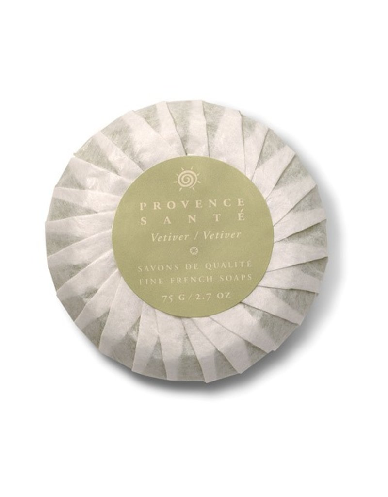 Baudelaire Provence Sante- Gift Soap, Vetiver 2.7 oz., 4 bar