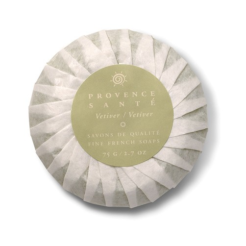 Provence Sante- Gift Soap, Vetiver 2.7 oz., 4 bar