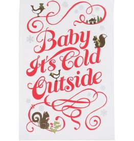 Now Designs BABY IT'S COLD OUTSIDE DISHTOWEL