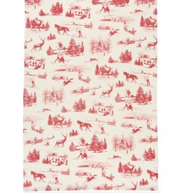 Now Designs HOLIDAY TOILE DISHTOWEL