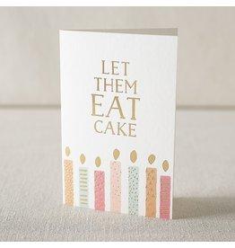 Smock Eat Cake digital and foil card