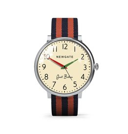Newgate THE CLUB, MILITARY RED & BLUE STRAP