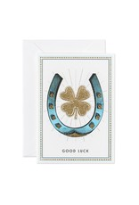 GOOD LUCK SMALL GREETING CARD