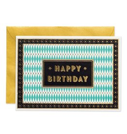 Chase & Wonder HAPPY BIRTHDAY - ART DECO