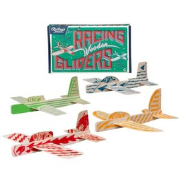Wild and Wolf Racing Wooden Gliders