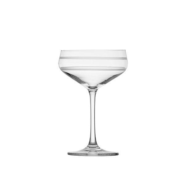 Crafthouse 8.8oz (.26L) SZ Tritan Cocktail Coupe, Set of 4